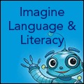 icon for imagine language and literacy