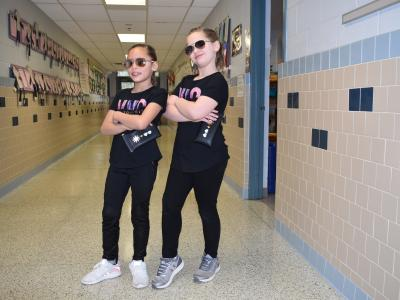 2nd Graders twin as New Yorkers!