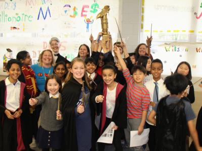 Photo of battle of the books winners